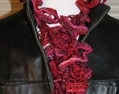 Limited Edition Sashay Scarf in Wine Shimmer Metallic by Tammarie Designs