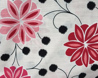 Floral Fabric - Home Collection by MM Designs - Home Decor - 3 yards