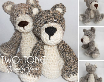Crochet SUPERSOFT Oatmeal Bear
