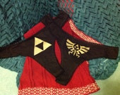 Zelda Triforce and Royal Crest logo panties