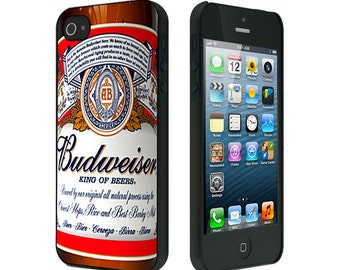 iPhone 4/4S case, iPhone 5/5S Case, iPhone 6, Bud Beer Bottle