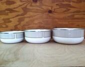 Kobe Kitchen Nesting Mixing Bowl Set - Made in Japan