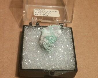Beautiful Metavariscite specimen