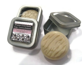 Women's Solid Shave Soap