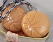 Pumpkin Lager Basketball Goat Milk Soap on a Rope
