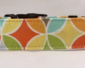 Dog  Collar - Dog, Martingale or Cat Collar - All Sizes - Tile Pile