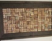 Barn Wood Frame Corkboard