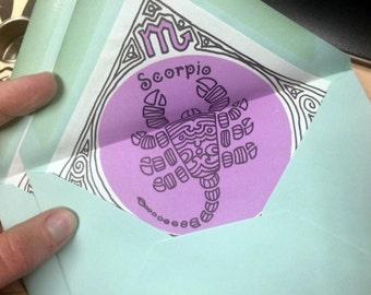 Make me an Offer! Scorpio Zodiac Stationery