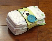 Sale Riley Blake Peak Hour Cars and Trucks Diaper Strap with Matching Teal Button