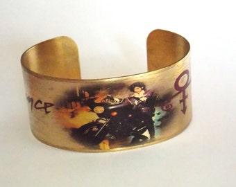 Prince Purple Rain Cuff Bracelet