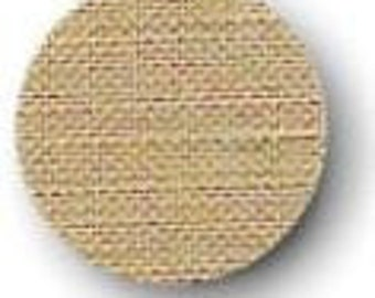 Cross Stitch Linen Natural Light 32 Count 18 x 27 inches, Aida Evenweave Fabric, Needlecraft Fabric