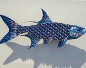 Fish Wall Art Natural Light Bottlecap Tarpon Fish