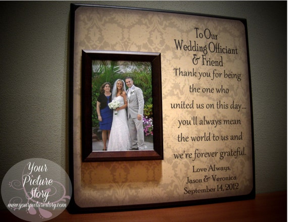 Perfect Wedding Gift For Bride: Wedding Officiant Gift : Perfect For The By YourPictureStory