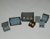 dolls house shop ,dressing table jewellery items 1/12th scale