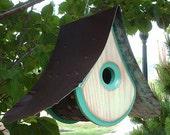 MODERN BIRDHOUSE | Mid Century Modern Birdhouses | Wooden Bird houses