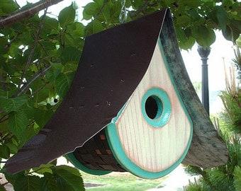 MODERN BIRDHOUSE   Outdoor Birdhouses   Wooden Bird houses