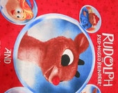 Crinkle Children's Soft Book, Rudolph The Red Nose Reindeer And Friends