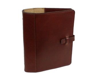 Leather 3 Ring Binder Notebook FA0104