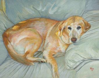 Hand Painted Pet Portraits - Original Portrait Art of Your Furry Family Member