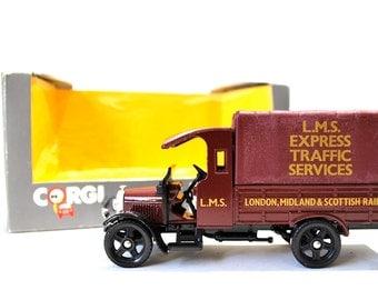 Corgi Classic London, Midland, & Scottish Railway Delivery Truck MIB