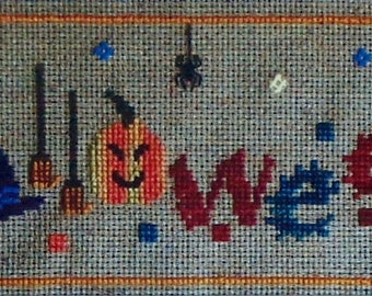 Turquoise Graphics & Designs HALLOWEEN - Counted Cross Stitch Pattern Chart