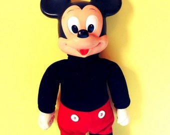 Walking Vintage Mickey Mouse Doll