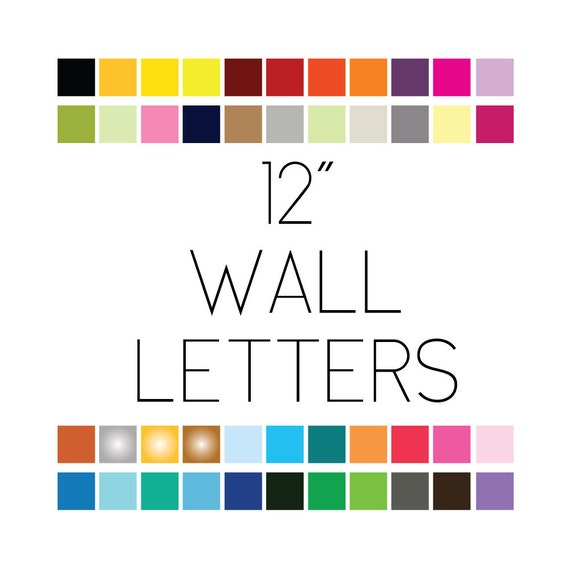 12 12 inch wall safe letters stickers decals lettering adhesive vinyl removable custom personalized quotes