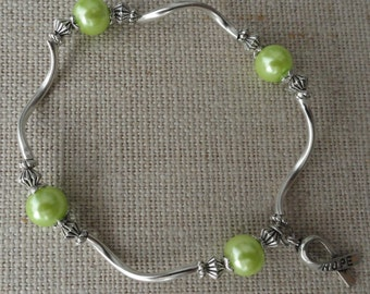 014 Lymphoma Cancer Awareness Bracelet