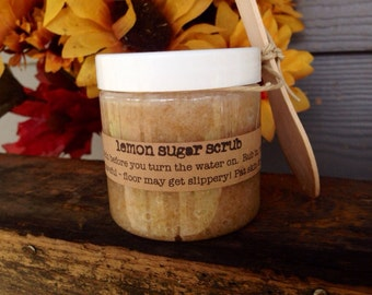 Lemon Sugar Scrub - 4 oz. jar