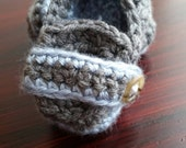 Baby loafers Baby Booties Crochet Baby Loafers 3-6 mos