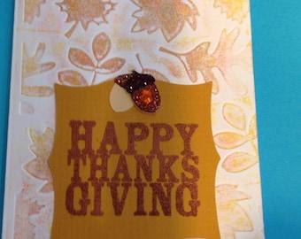 Autumn Thanksgiving Card