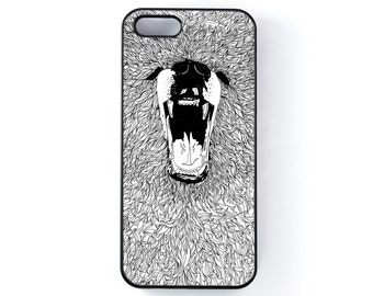 Grizzly Bear Iphone case 5/6