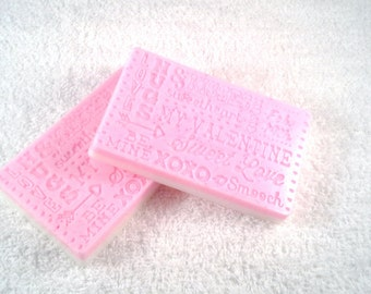 Valentine Three Butter Soap