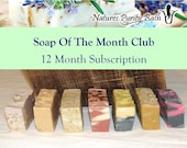 Soap of the Month Club 12 Month Subscription