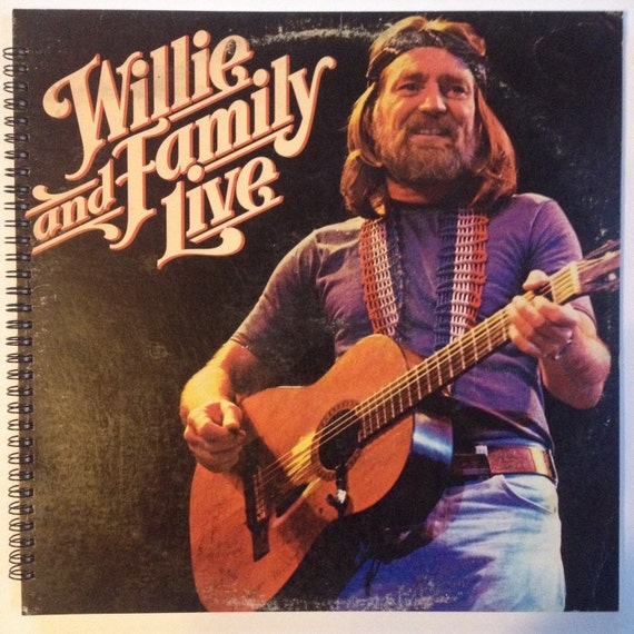 My Way Willie Nelson: Willie Nelson Recycled Record Album Cover Book