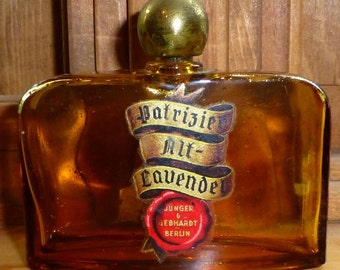 Patrizier Alt- lavendel Perfume Empty Bottle Junger & Gebhardt Berlin