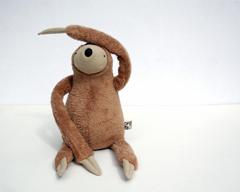 Plush Peanut Sloth, stuffed animal toy for children