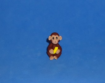 Polymer Clay Monkey