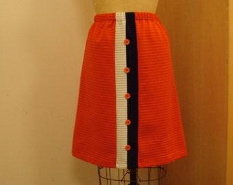 Mod Mondrian inspired skirt