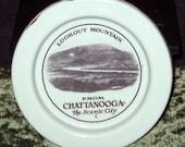 PRICE REDUCED - Rare Enamelware Souvenir Coaster, Lookout Mountain, Chattanooga