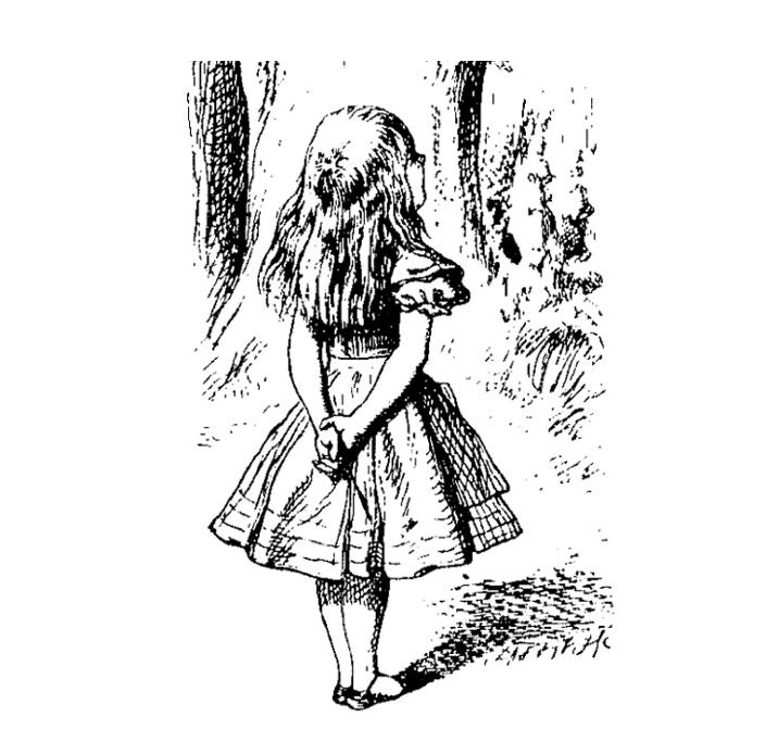 Alice au pays des merveilles tatouage temporaire fairytale - Tatouage alice au pays des merveilles ...