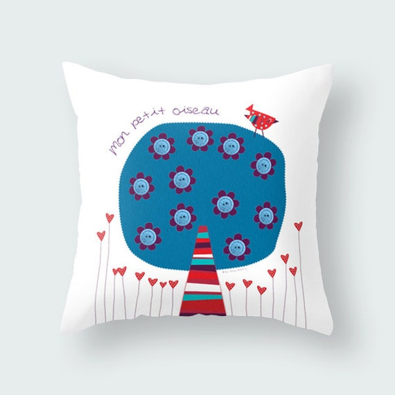 Throw Pillow For Nursery : Kids throw pillow, nursery throw pillow, cushion cover, decorative pillows, children bedding ...
