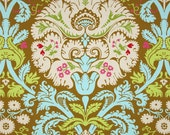 11231 Amy Butler  Belle collection Acanthus in olive color  cotton Fabric - 1 Yard