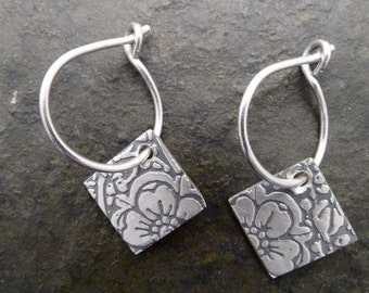 Roma Earrings-Large Flower