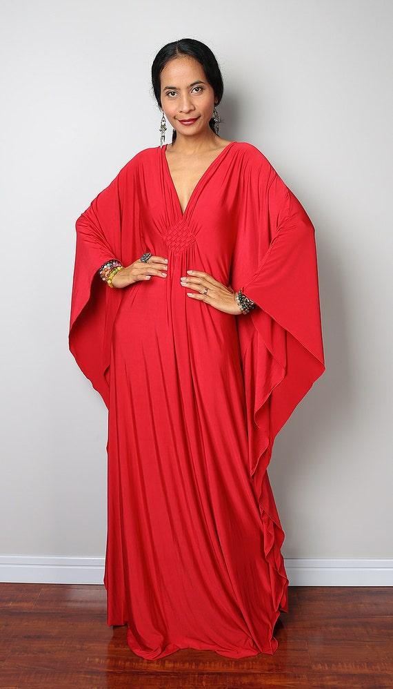 rouge robe maxi kimono papillon robe maxi funky l gante. Black Bedroom Furniture Sets. Home Design Ideas