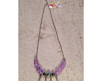 Bold Spike Necklace