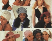 ON SALE Misses Hats in Ten Styles Simplicity Sewing Pattern 8699 Accessories Vintage Pattern Sewing