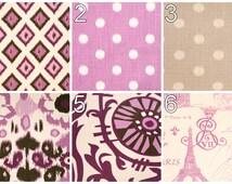 Window Curtains- Pair of Drapery Panels- Premier Prints Grapevine Purple Curtains- 25W or 50W x 63 84 96 108 120 in Custom Window Treatments
