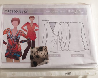 Style Arc Crossover Kit wrap top size 8