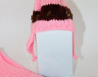 Knit doll clothes for American Girl doll